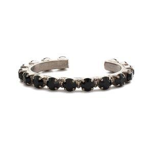 Sorrelli Jet Essentials Cuff Bracelet